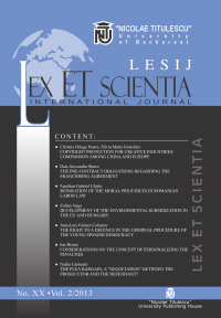 LESIJ XX vol 2 2013