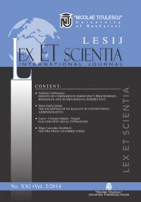 LESIJ XXI vol 2 2014