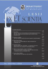 LESIJ XXII vol 1 2015