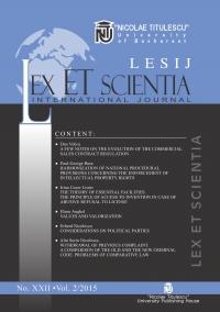 LESIJ XXII vol 2 2015