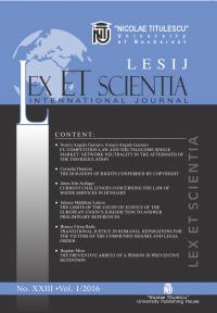 LESIJ XXIII vol 1 2016