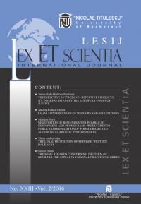 LESIJ XXIII vol 2 2016