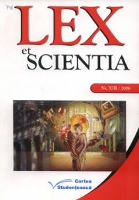 Lex_Et_Scientia_2006_Nr_XIII